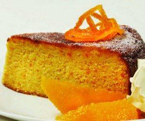 GAPS desserts Almond mandarin cake