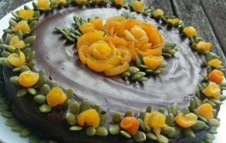 Almond mandarin cake