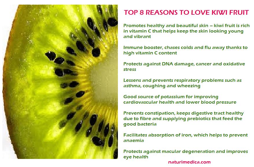Kiwi fruit - love it