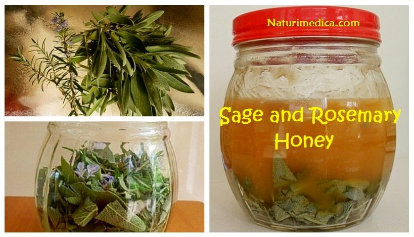 Sage and rosemary honey recipe