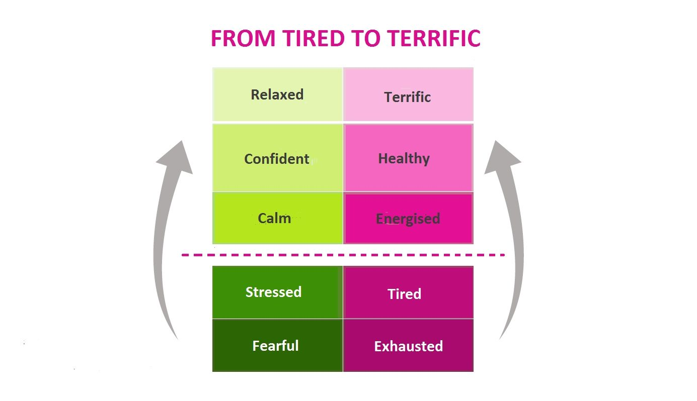 Adrenal fatigue recovery graph