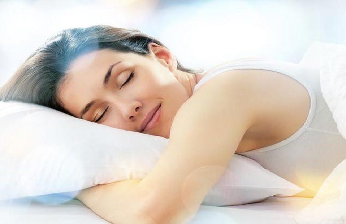 Adrenal fatigue Sleeping woman