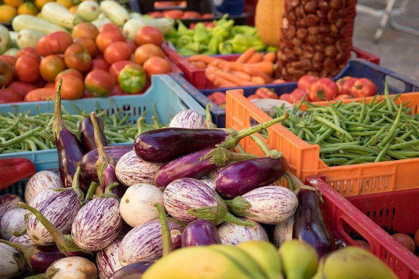 Fibre - high fibre vegetables