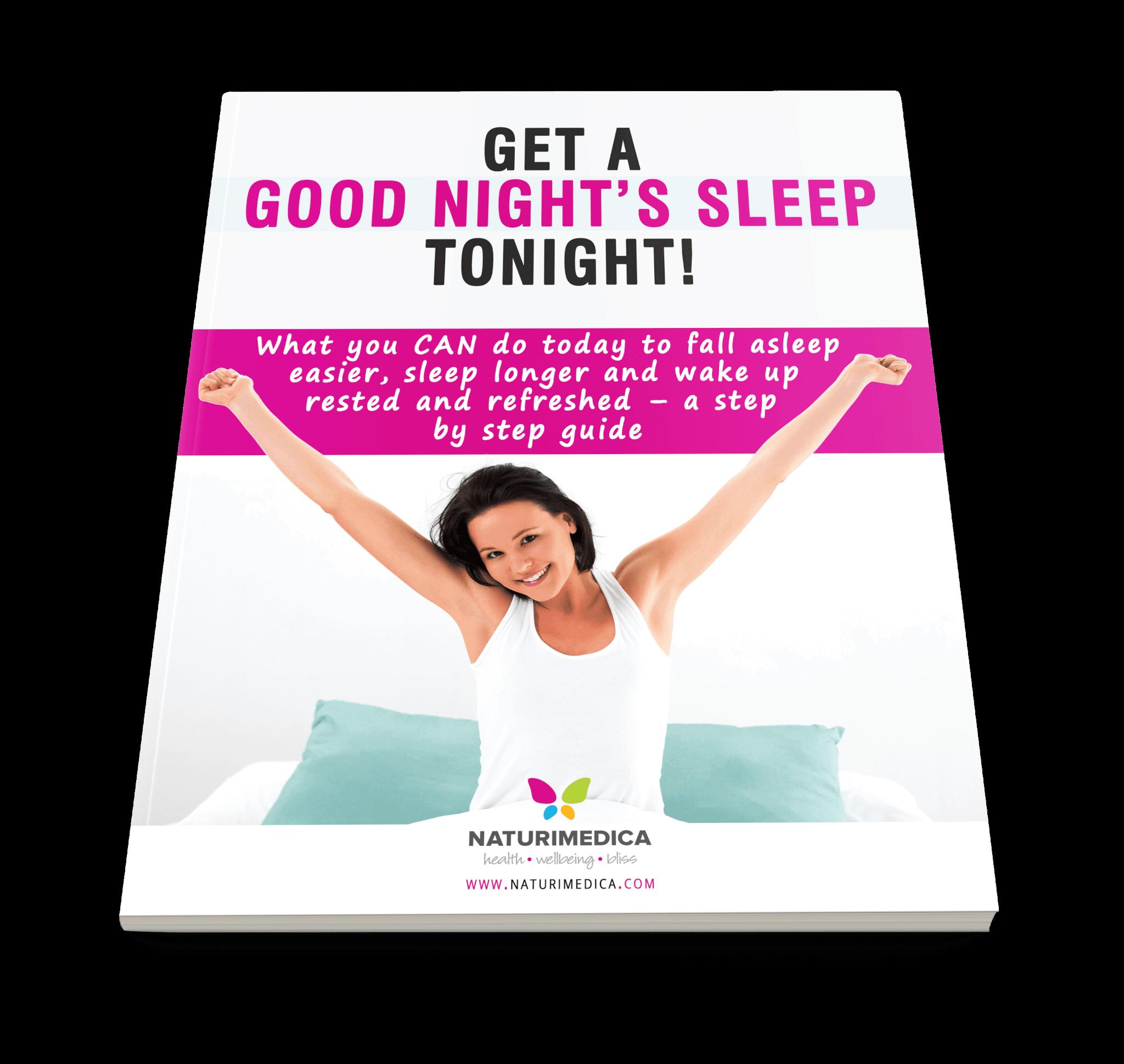 Free Ebook Get A Good Nights Sleep Tonight Naturimedica